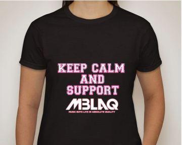 MBLAQ Keep Calm black