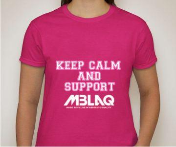 MBLAQ Keep Calm pink